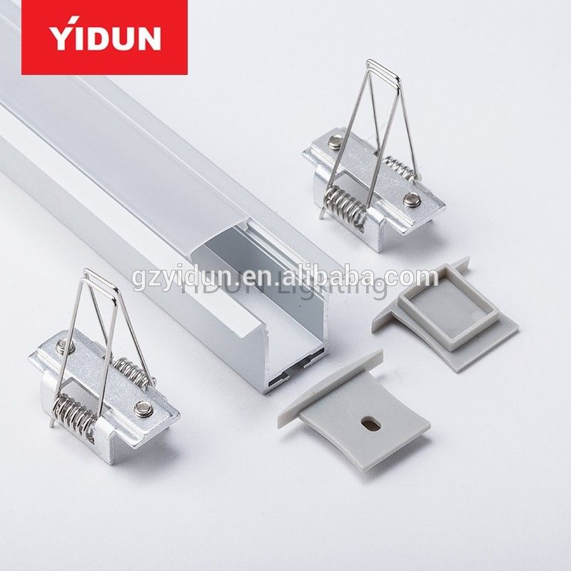 Aluminium Profile Housing 35mm 55mm 60mm 75mm 1m 2m 3m 4m 5m Aluminium Led Profile Led Aluminum Profile Led Strip Lighting Led Cabinet Lighting