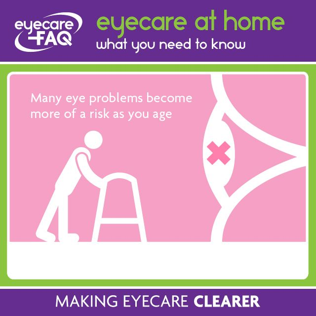 As you get older it is even more important to get your eyes tested