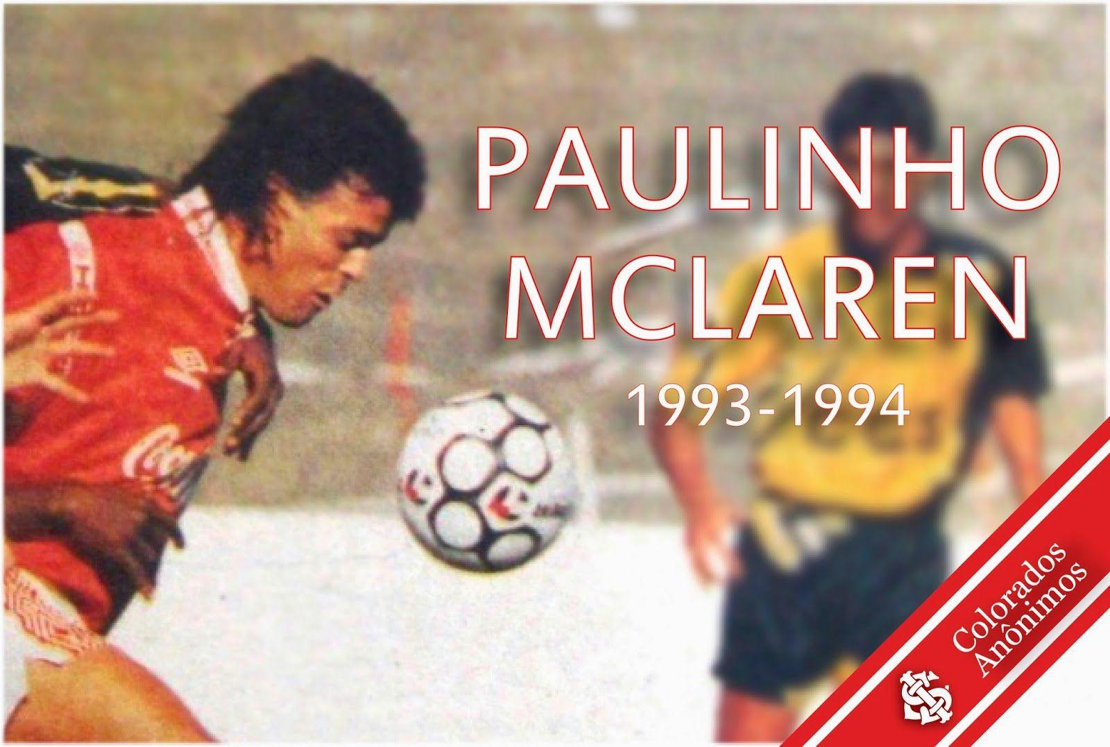 Campeão Gaúcho de 94 e artilheiro da Copa do Brasil com a camiseta Colorada.
