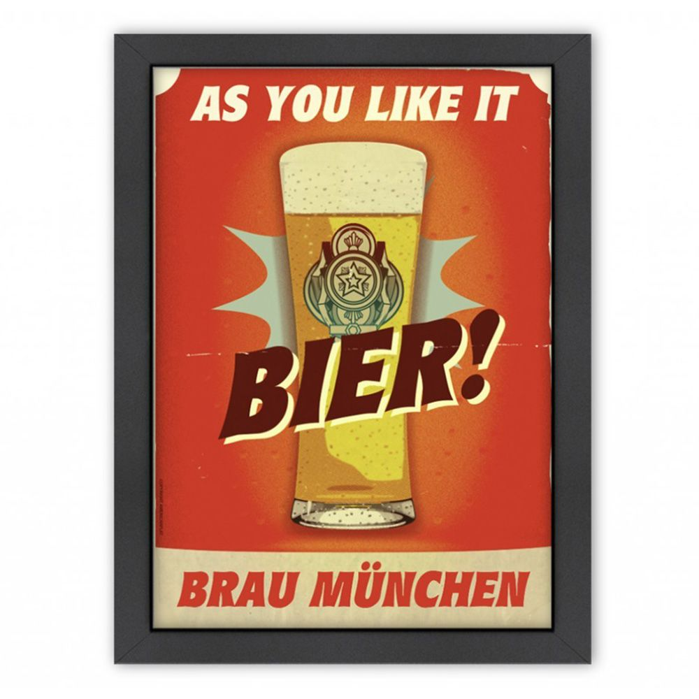 Dot Bo Daily Sales Of Modern Fusion Bier Inspiring Art Posters Trademark Fine Art