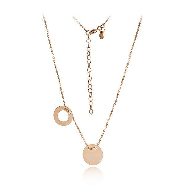 Piekna Celebrytka Zlota Dwie Zawieszki Hit 4340166337 Oficjalne Archiwum Allegro Gold Necklace Jewelry Necklace