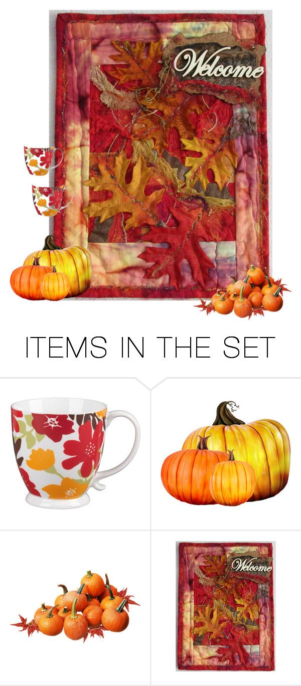 """Come Over For Coffee"" by patchworkcrafters ❤ liked on Polyvore featuring art"