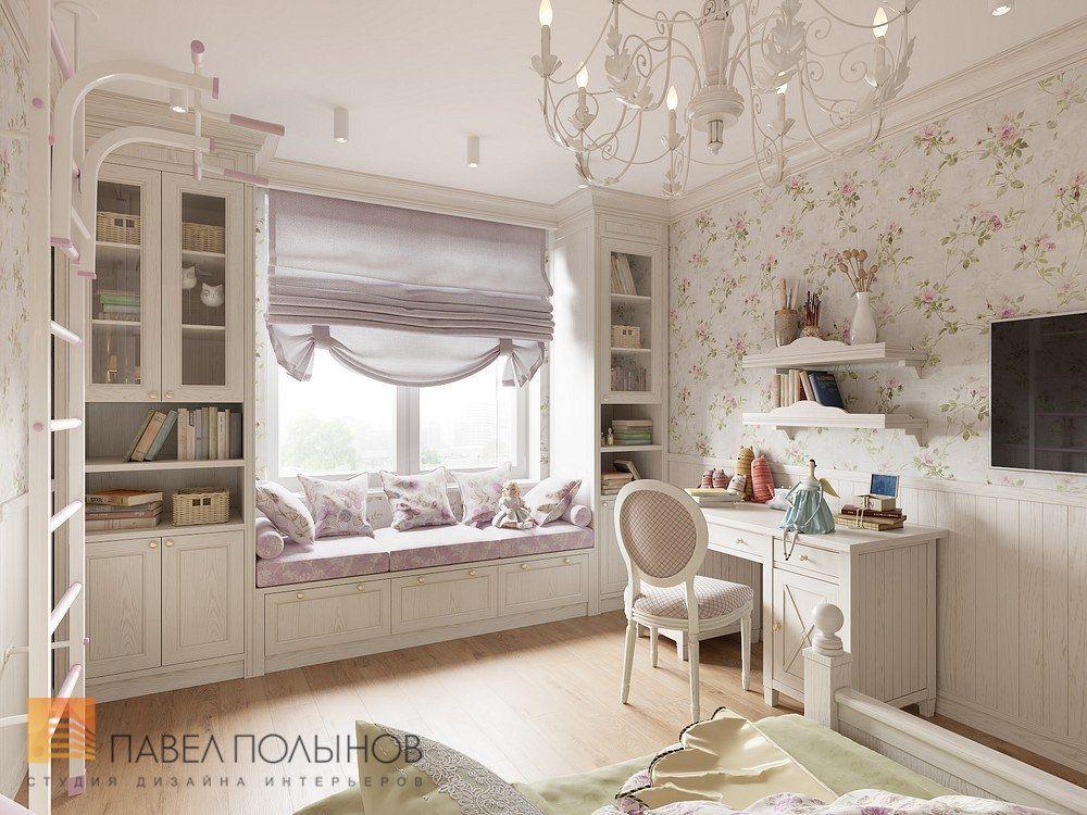 Фото: Интерьер детской комнаты для девочки - Интерьер ...