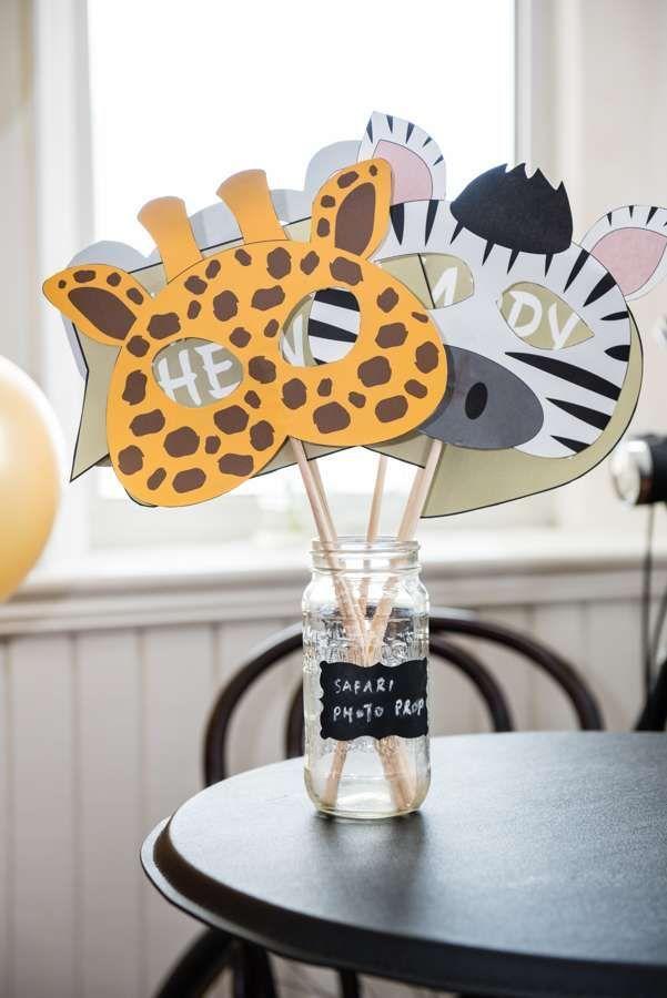 African Safari Birthday Party Ideas #safaribirthdayparty