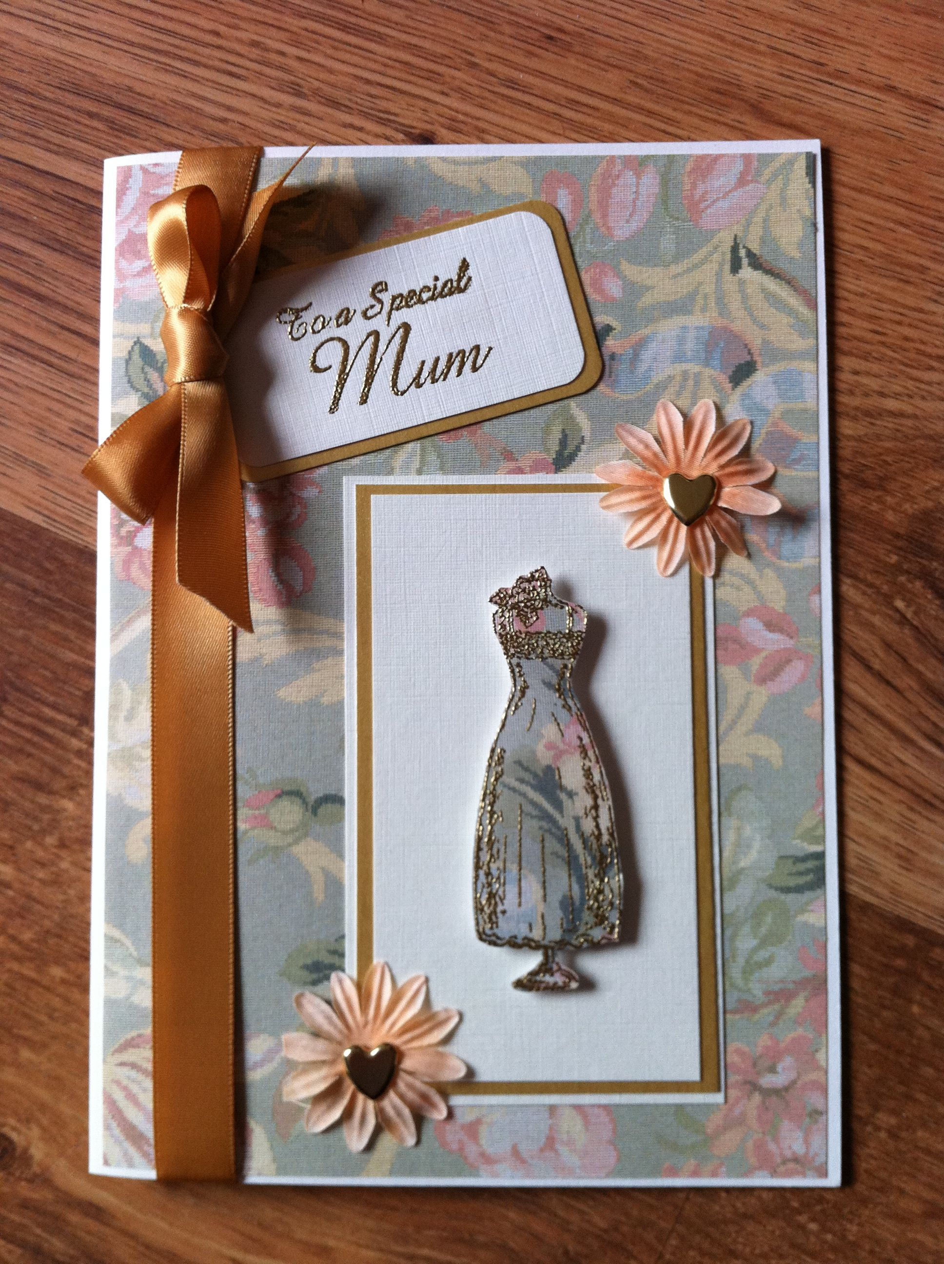 handmade mother's day card  paper crafts cards cards