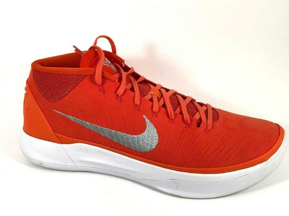 Nike Kobe AD Mid Mens Basketball Shoes 14 Team Orange 942521