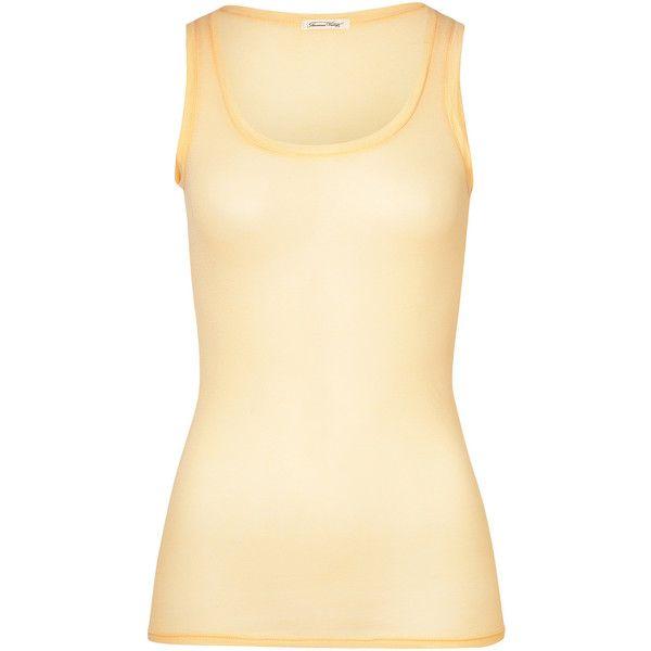 American Vintage Nefle Fine Cotton Tank Top Long Tank Tops Cotton Tank Top Bright Spring Clothes