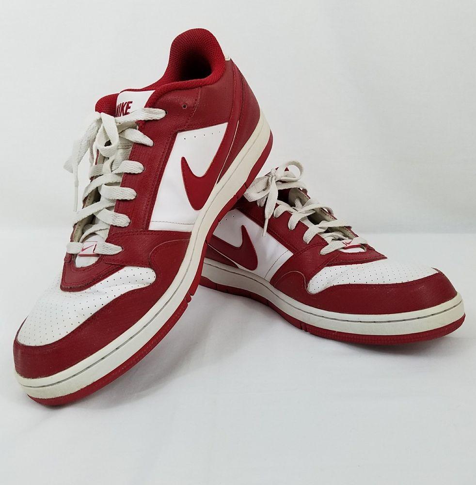 Nike Air Prestige III 3 Sz 14 Shoes Sneakers Low Mens Athletic Walking Red  White #