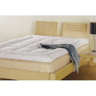 2 5 Baffle Box Feather Bed Size California King By Down Inc 600 00 77005 Size California King Features Materia Bed Sizes Bedding And Bath Dorm Bedding
