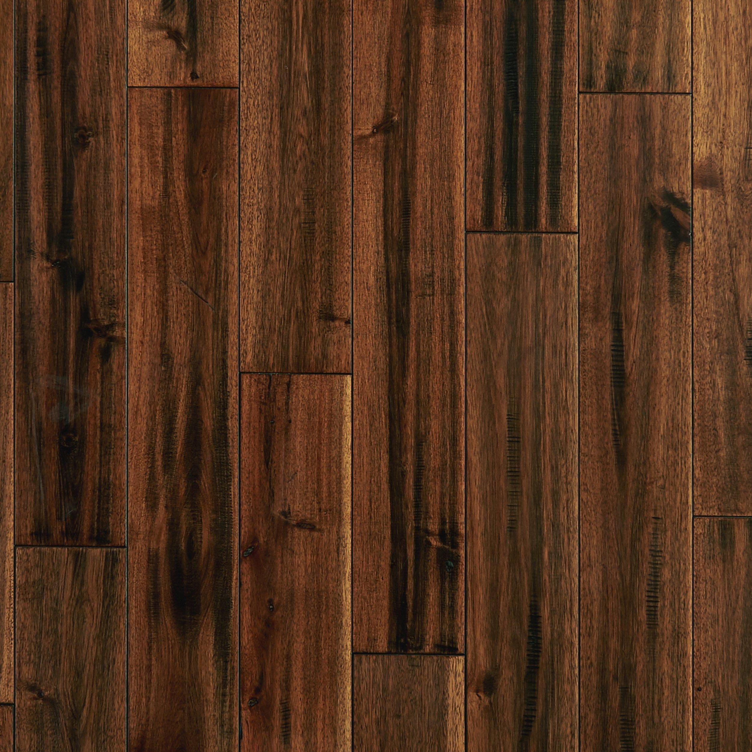 Best Acacia Maple Leaf Hand Scraped Solid Hardwood Hardwood 640 x 480