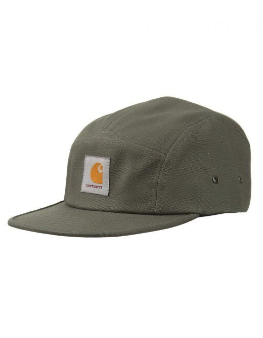 fd64121a985 Carhartt Backley 5 Panel Hat - Cotton Leaf