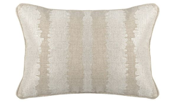 SA Mena Pearl 14x20 14W x 20D 100% linen Pearl Metallic Embroidery Feather/Down Insert   Please allow 2-3 weeks to ship out and receive tracking, please contact