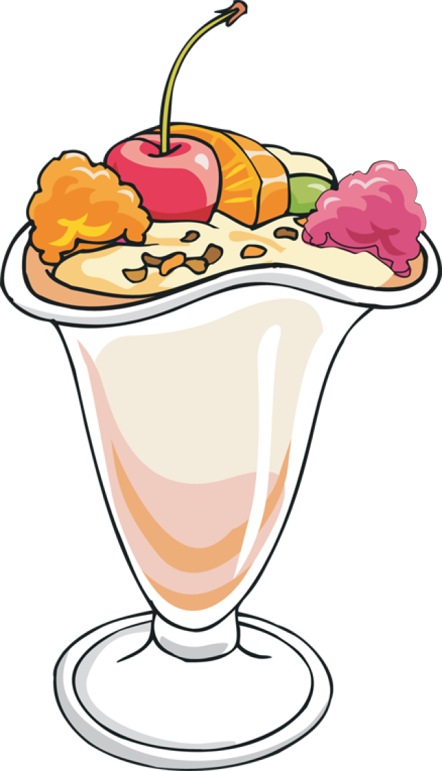 graphic design yummy snacks and clip art rh pinterest co uk sundae clipart black and white sunday clipart