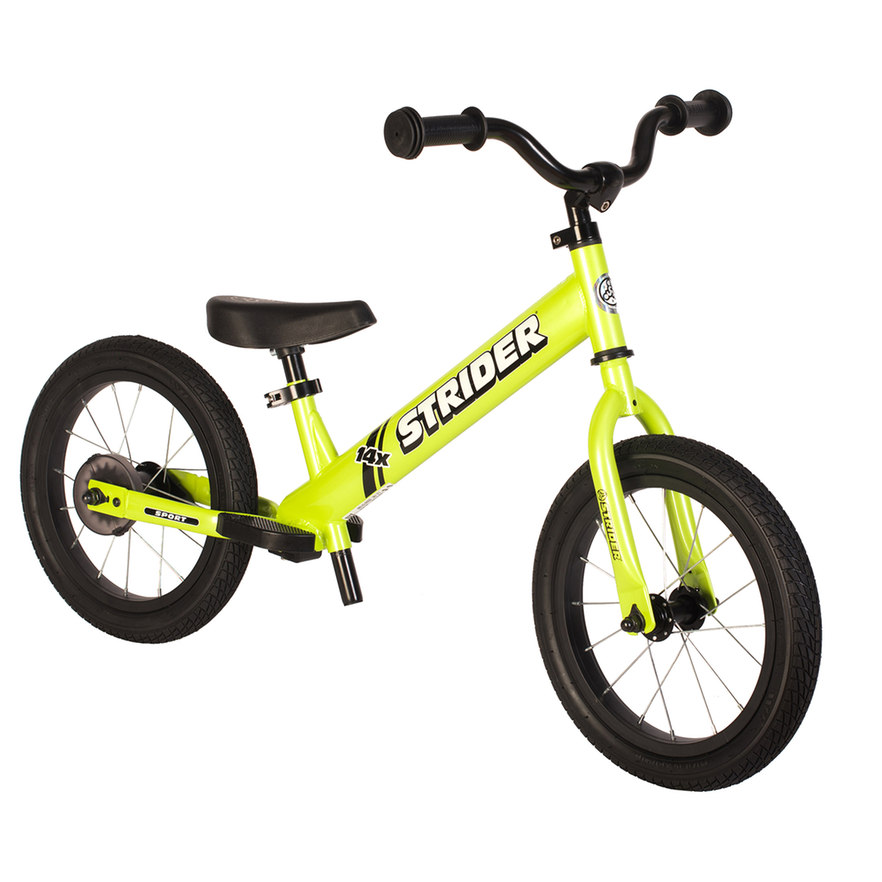Strider 14x Sport 14 Inch Balance Bike Easy Ride Pedal Kit