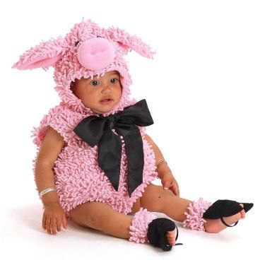 Squiggly Pig Infant / Toddler Costume Toddler costumes, Infant - halloween costume ideas for infants