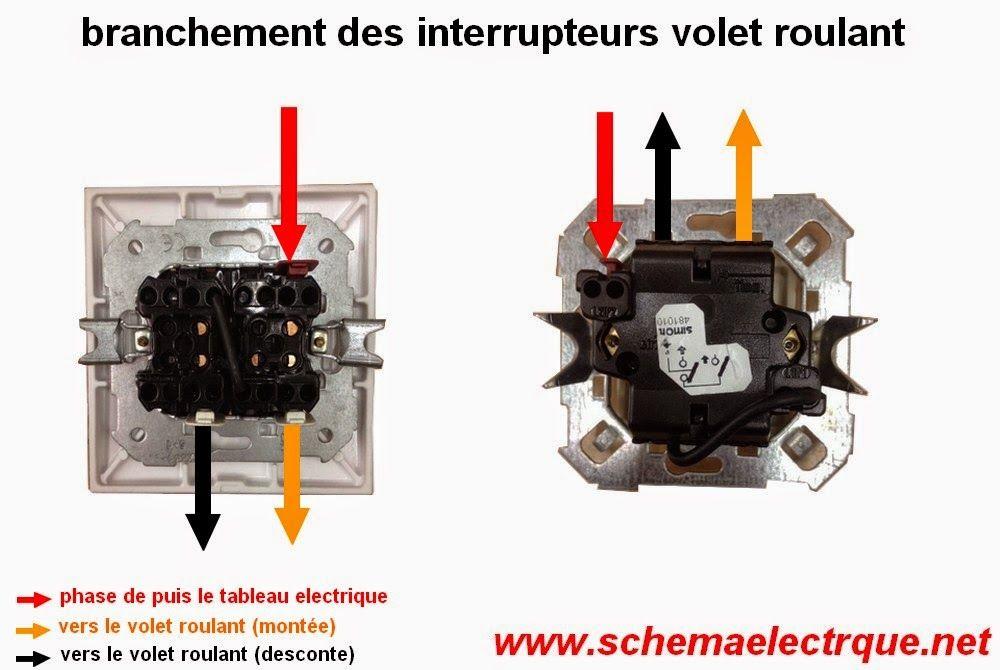 Schema Branchement Cablage Volet Roulant Electrique Volet Roulant Electrique Schema Electrique