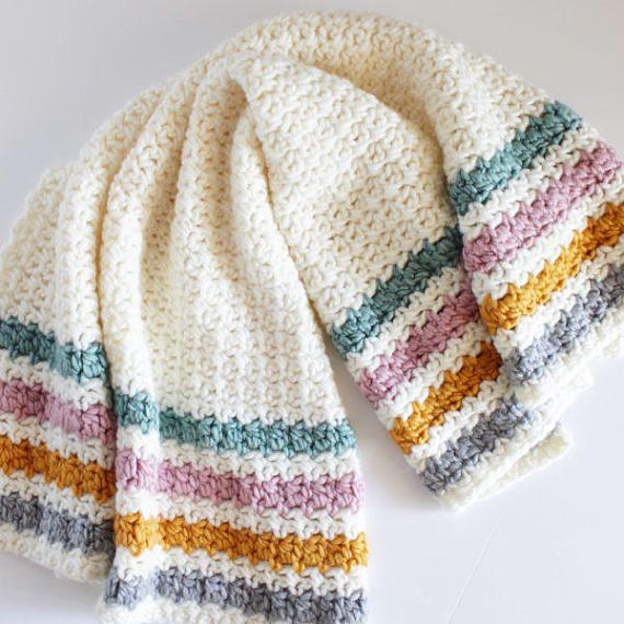 Crochet Even Berry Stitch Blanket Pattern Berry Blanket And Crochet