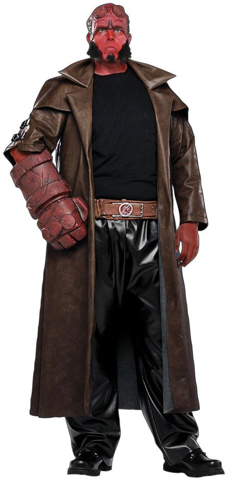 halloween costumes hellboy costume plus size mens halloweencostumes4ucom 6080
