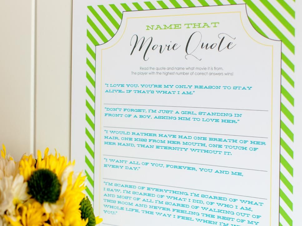 10 Bridal Shower Games And Activities