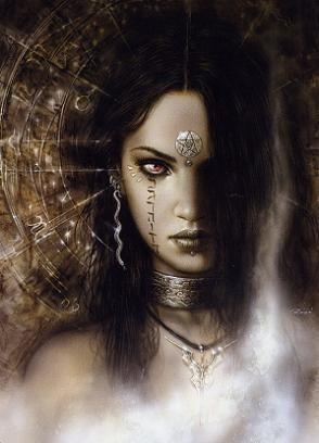 Una mirada fija y penetrante  que te llega a romper los huesos de la frialdad que te causa