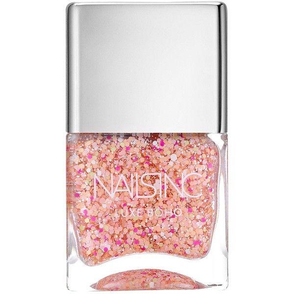 Nails Inc Portobello Crescent Luxe Boho Nail Polish (€21) ❤ liked on Polyvore