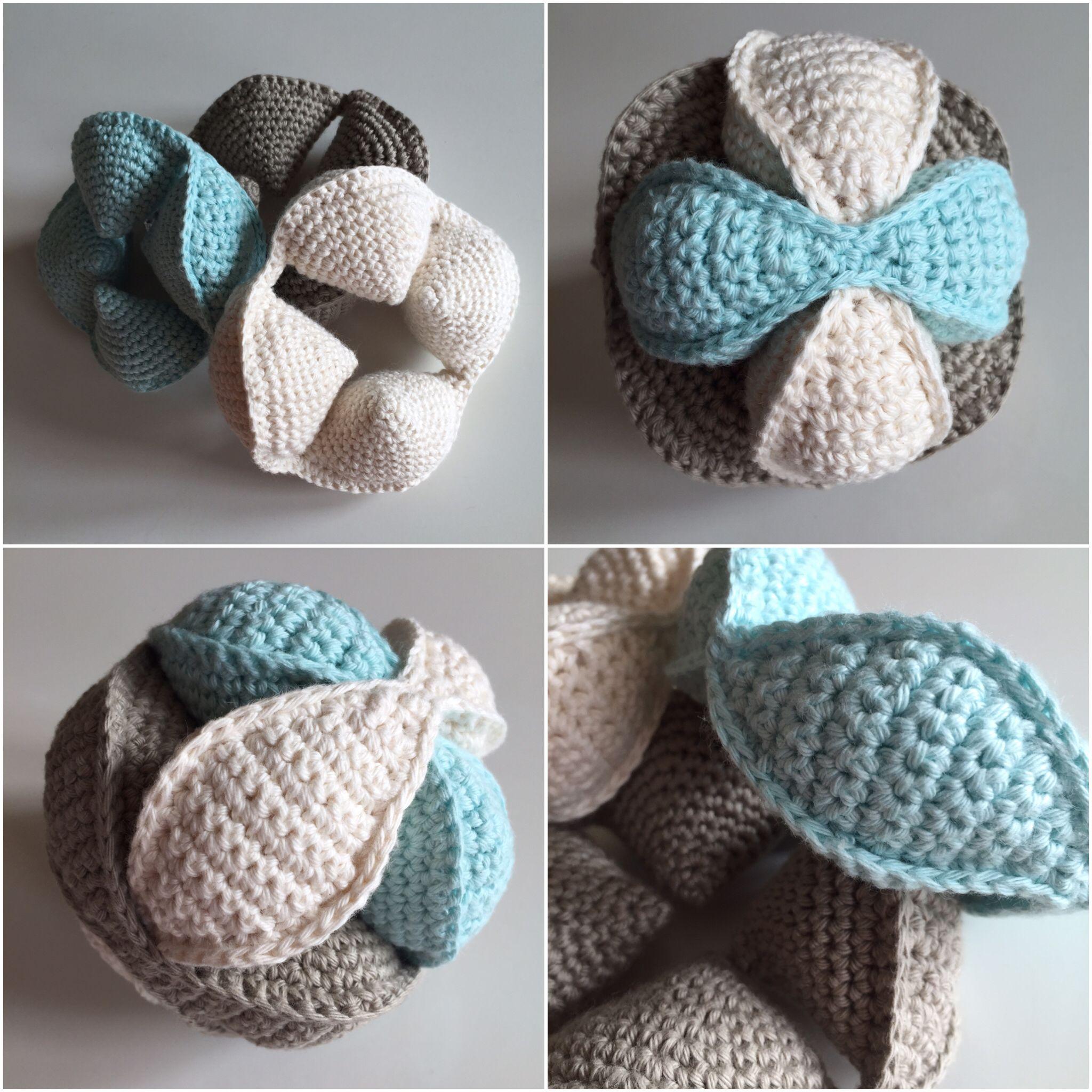 Puzzelbal Puzzle ball Haken Crochet | Häkeln | Pinterest | Häckeln ...