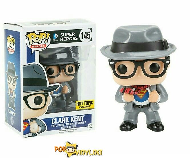 Get To Know The Real Clark Kent In Funko S Pop Http Popvinyl Net Other Get Know Real Clark Kent Funkos Pop Clar Funko Pop Pop Heroes Funko Pop Collection