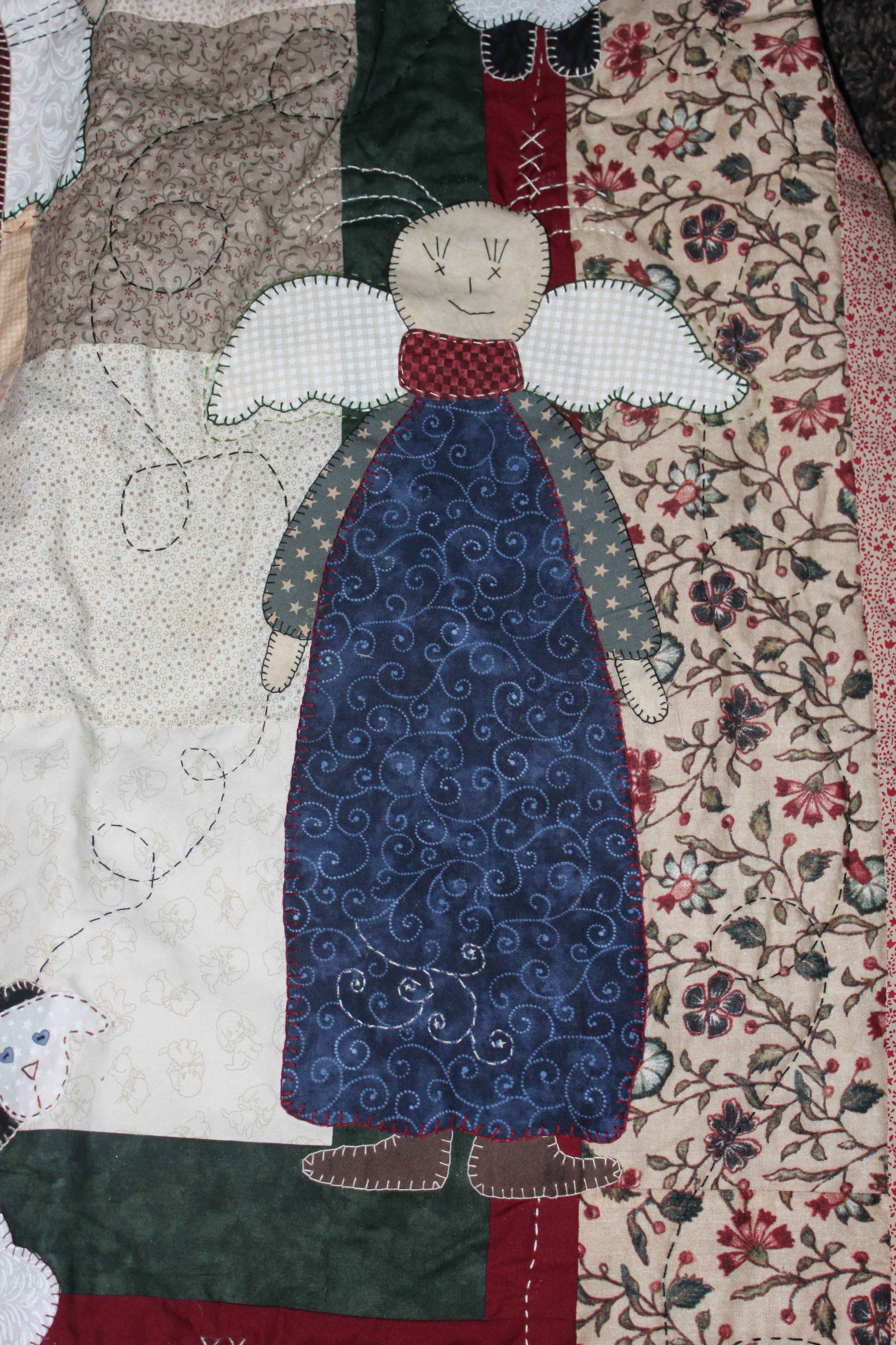 Angel Quilt Template