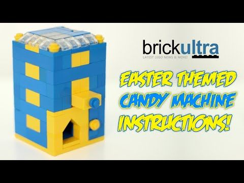 How to Build an Easter Themed LEGO Candy Machine - YouTube | Thing ...