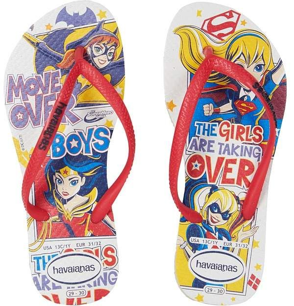 42375b18ec70 Havaianas Kids - DC Super Hero Girls Flip-Flop Girls Shoes