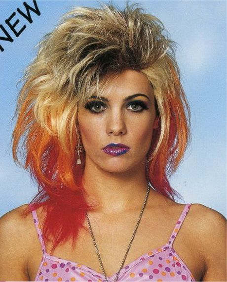 Perfecto peinados ochenteros Imagen de estilo de color de pelo - Pin en Peinados de los años 80