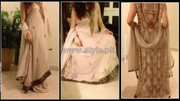 Anum Mansoor Formal Dresses 2013 For Women9