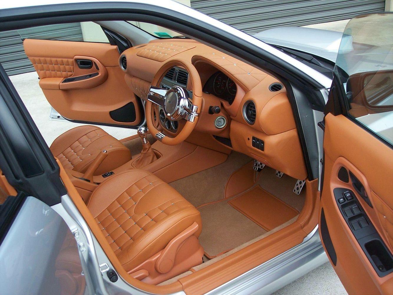 Blackneedle auto upholstery 04 wrx custom leather interior