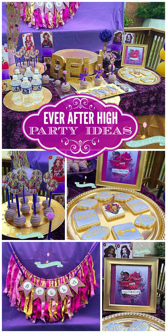 Fine Birthday Bellas Ever After High Party 10Th Birthday Parties Funny Birthday Cards Online Unhofree Goldxyz