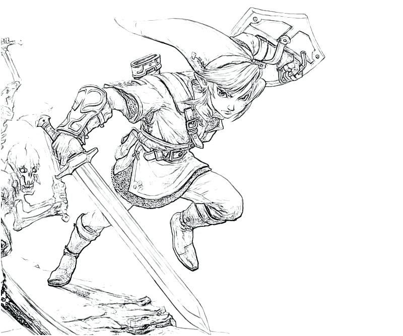 Link Colouring Pages Coloring Books Coloring Pages Legend Of Zelda