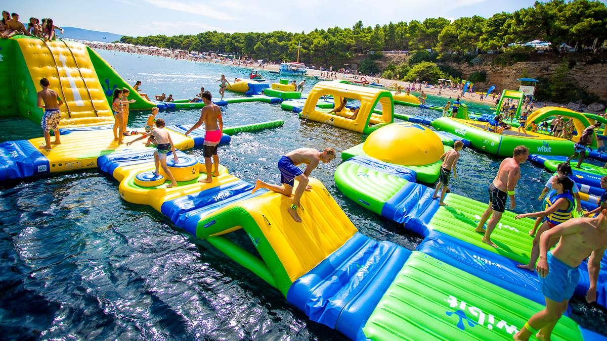 Nona Adventure Park will feature a large-scale, customized, open water Wibit aqua park with multiple, interconnected inflatables and obstacles for hours of endless fun.