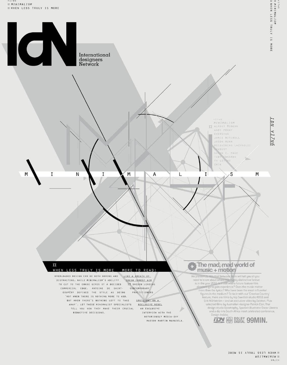 #ClippedOnIssuu from IdN v17n6: Minimalism Issue
