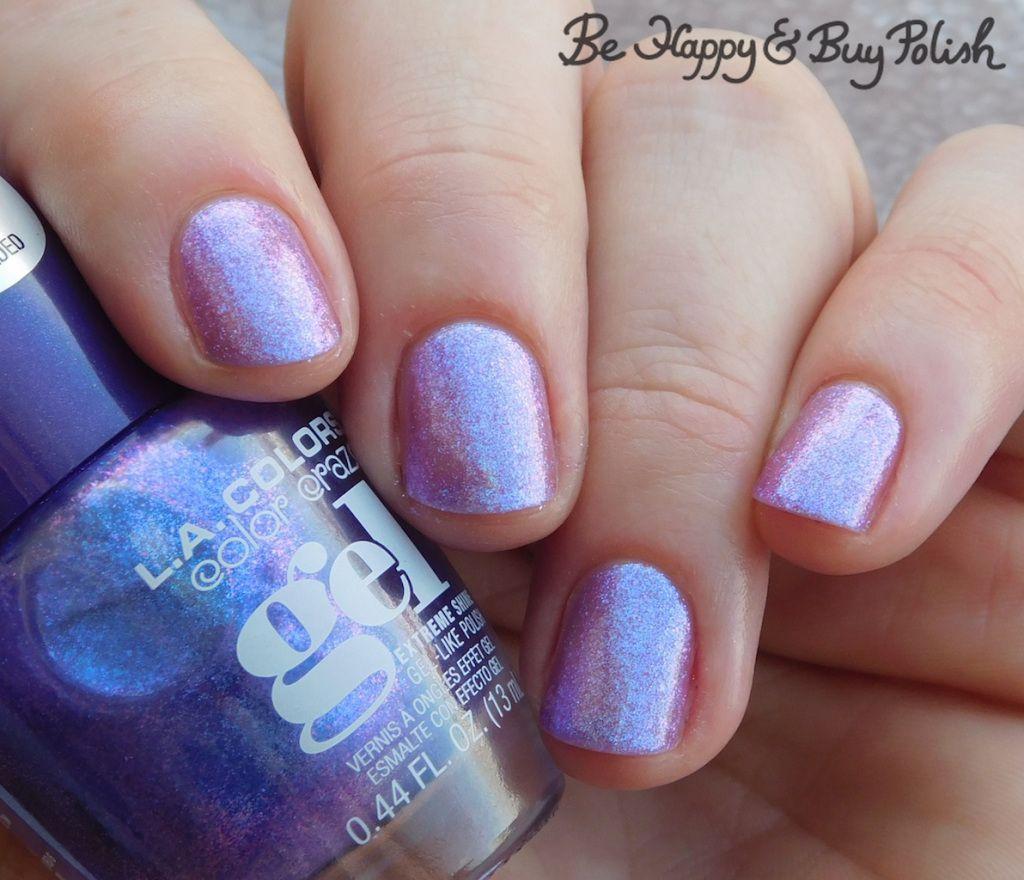 L A Colors Color Craze Gel Nail Polishes Hocus Pocus Princess Vibes Ravishing Swatches Nail Polish Gel Nails Gel Nails French