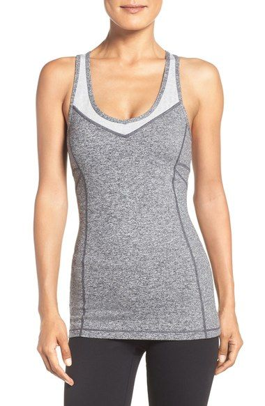 4f44360f334 Zella  Take the Plunge  Tank available at  Nordstrom