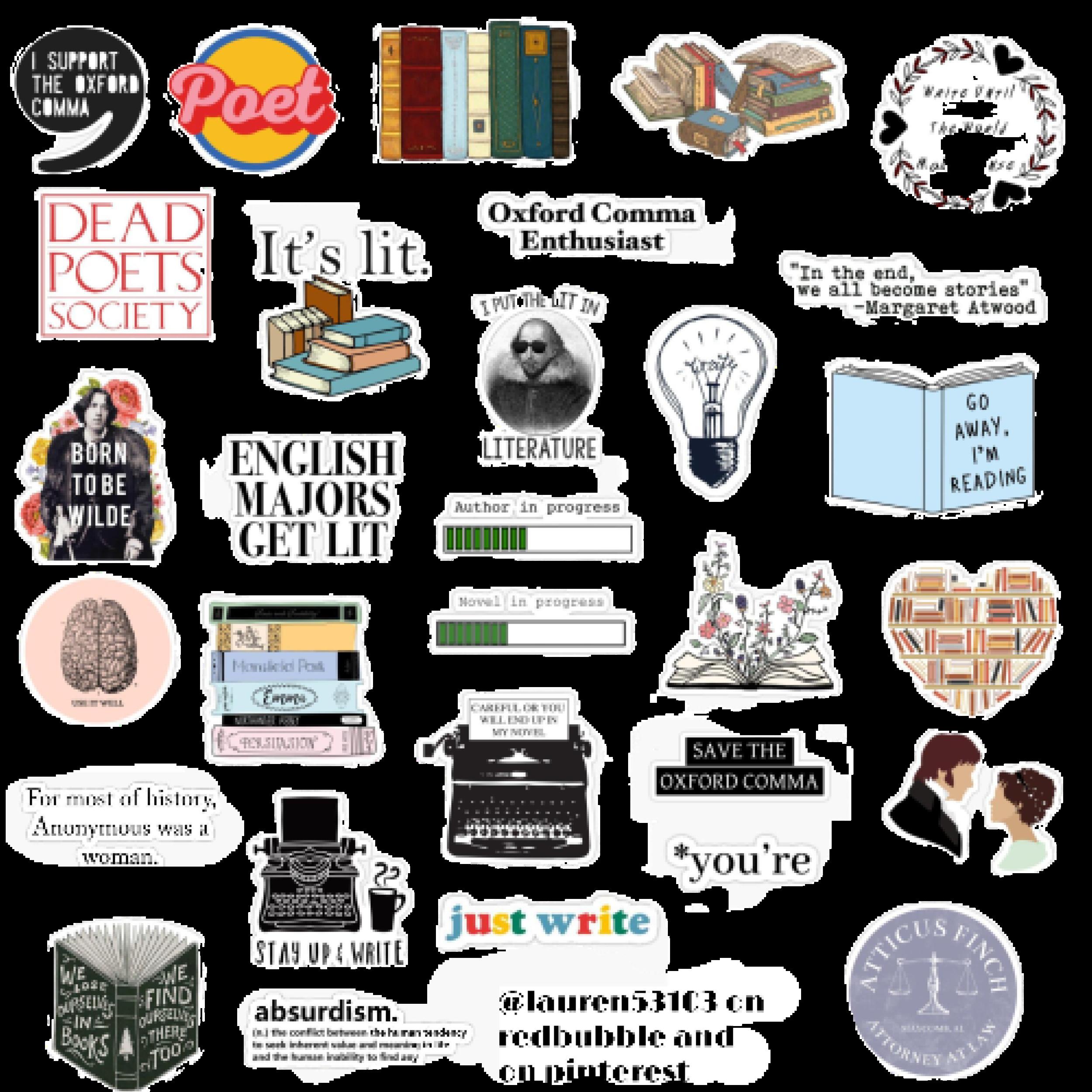 English Sticker Pack Sticker By Lauren53103 In 2020 Aesthetic Stickers Cute Laptop Stickers Pop Stickers