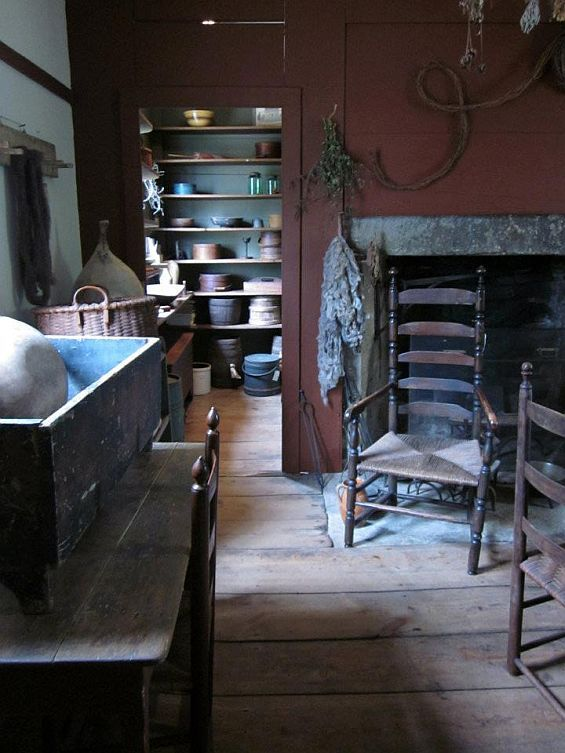 Historic House Blog Museum Caliber Abner Richmond Tavern Offered In Westford Ct 51 Pics Home Early American Homes Country Interior