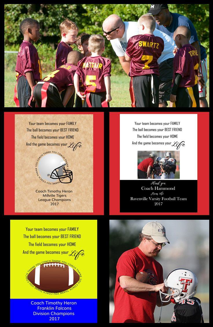 Youth Football Coach Gifts Gifts For Football Coaches