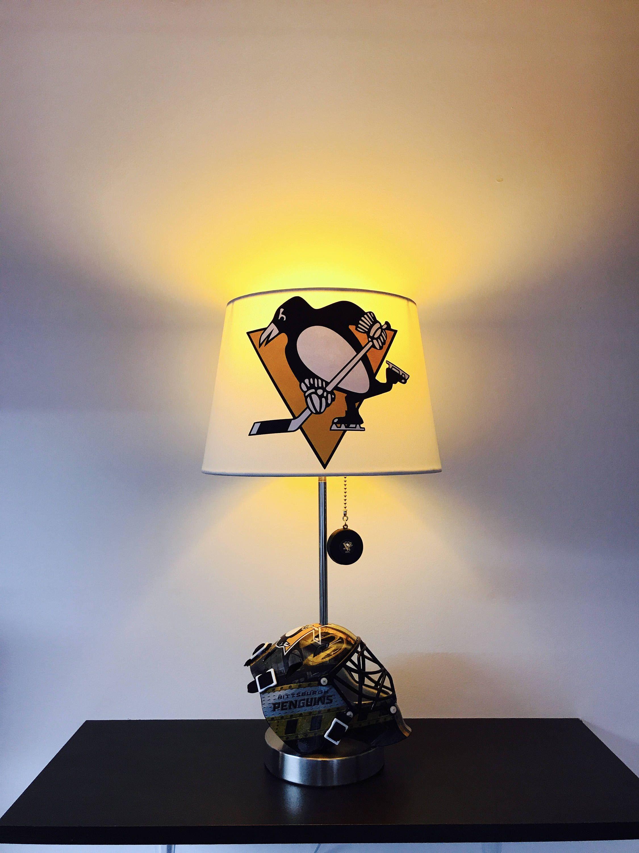 Pin By Calirado Art On Custom Nhl Hockey Lamps By Calirado