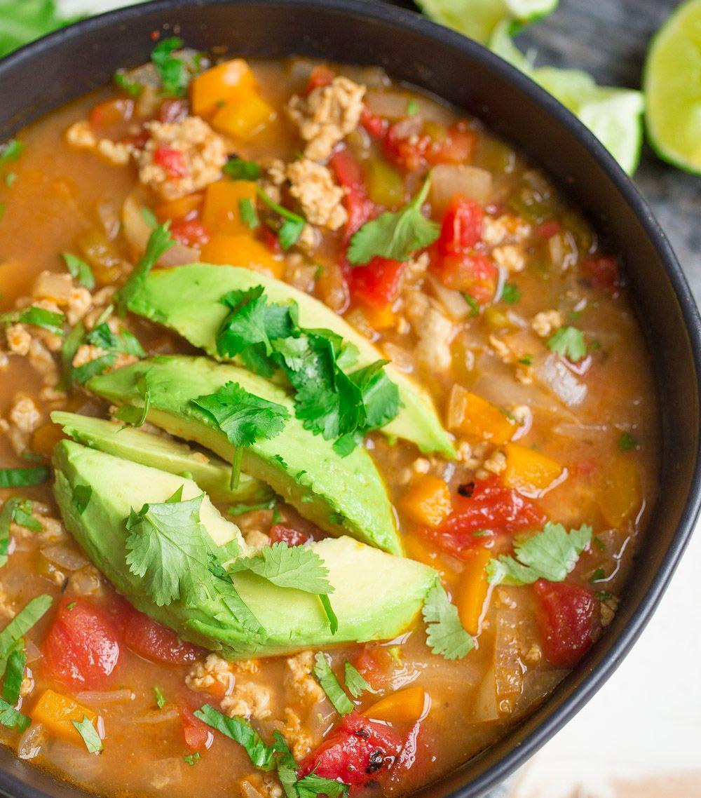 Ground Turkey Instant Pot Meals : Instant Pot Ground Turkey Taco Soup | Recipe | Ground ...
