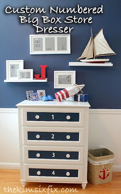The Kim Six Fix: Customizing a Discount Store Dresser, WANT TO DO THIS WITH OUR DRESSER