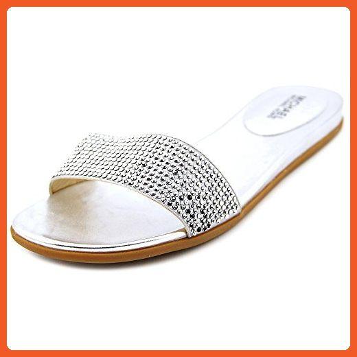 c4f00f5c84 VOCOSI Women's Flat Heel Sandals with Rivets Slide Slipper Dress for Casual  Summer Nude 11.5 US | amzn | Sandals, Womens flats, Slippers