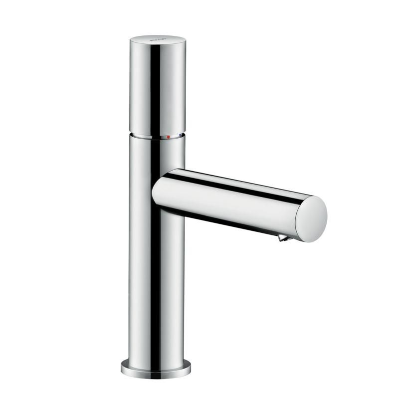 Hansgrohe Axor Uno single lever basin mixer 110, zero handle chrome ...