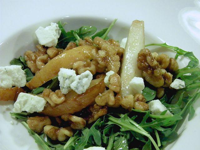 Caramelised Pear And Rocket Salad 31 Donna Hay