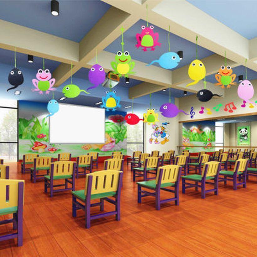 20 Attractive Kindergarten Classroom Decoration Ideas To Make It
