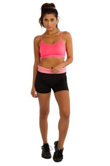 d8ab628422  Activewear  Manufacturer is one of the leading brand has brought in the   wholesale  sleek  pink  sports  bra for buyers. Hurry!